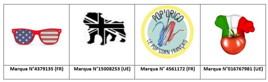 marques drapeaux INPI EUIPO